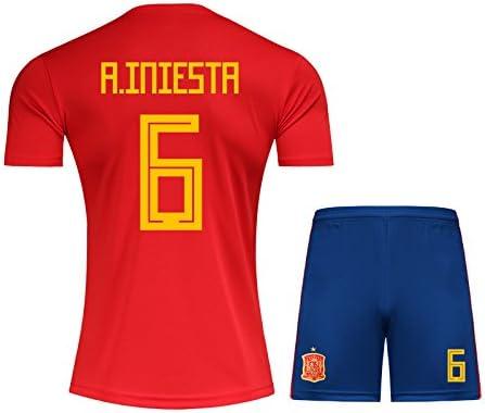 mqtwer Camiseta De La Bola 2018, No. 22, España 7, S, No. 6 En España: Amazon.es: Deportes y aire libre