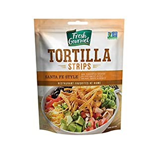 Fresh Gourmet Tortilla Strips, Santa Fe Style, 3.5 Ounce (Pack of 9)