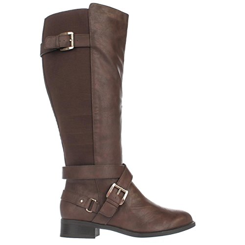 Boots Vada Knee Womens Toe Thalia High Cognac Sodi Fashion Closed qEgwW7U8