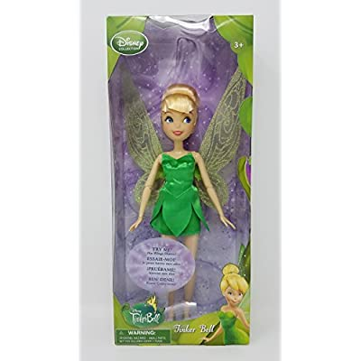 Disney Collection Tinker Bell 10 Inch Doll (Wings Flutter) Fairy Fairies Figure: Toys & Games
