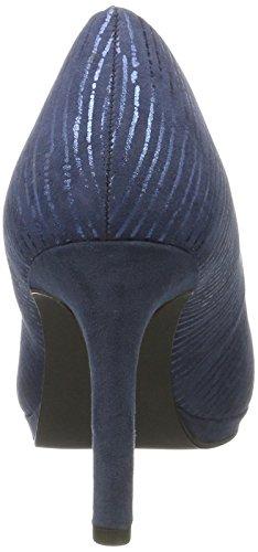 Donna Marco 22435 Comb Navy Plateau con Scarpe Blu 890 Tozzi 41xST