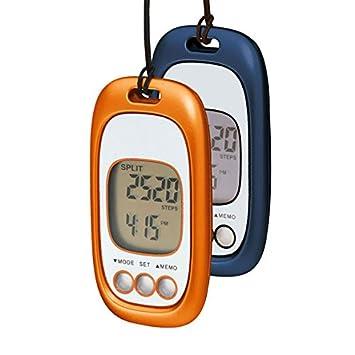 1 G - Cuentapasos con sensor de movimiento de 3G orangemetallic