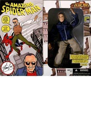 Marvel Legends Series 2 Stan Lee/Spider-Man (SDCC Exclusive) Action Figure