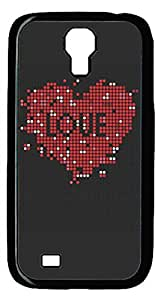 meilz aiaiSamsung Galaxy S4 Case PC Customized Unique Print Design Red Heart Love Case Cover For Samsung Galaxy S4meilz aiai