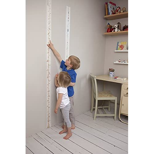 10 Designs Portable A Memento for Life Choice of 10 Designs. Talltape, Fairies Roll-up Height Chart Plus 1 Sharpie Marker Pen to Measure Children from Birth TALLTAPE