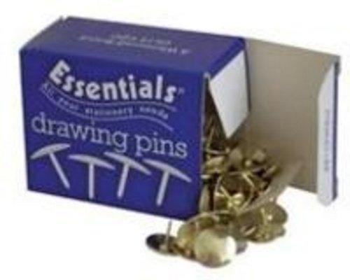 Essential, puntine da disegno, 12,5mm, confezione da 100 ExaClair Ltd 34251