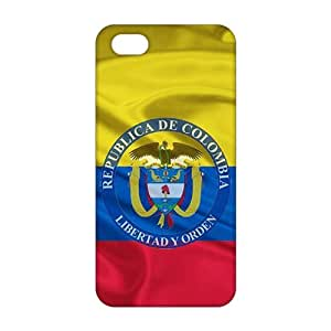 Fortune Republica de Colombia libertad y orden 3D Phone Case for iPhone 5s