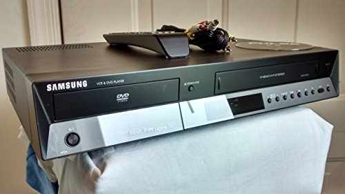 SAMSUNG DVD-V9700 HIFI STEREO DVD & VCR COMBO RECORDER 4 ROTARY HEAD. DIGITAL VCR RECORDER - TUNERLESS w/ HDMI, DVIX, DTS SURROUND, DOLBY DIGITSL. Remote Included + AV Connector Cords