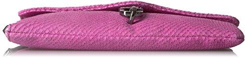 Kestenberg Wristlet Lizard Aimee Cranberry Crossbody Emboss Silva Bag Pzfx4qxTn
