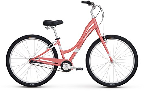 "Raleigh Bikes Women's Circa 3 Step Thru Comfort Bike, 15""/Small, Pink Raleigh Bikes"