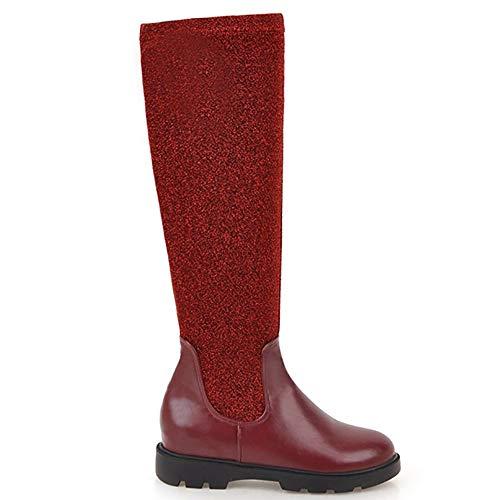 AicciAizzi AicciAizzi Red Red Red Lunghi Scintillare Chiusura Stivali Senza Donna ArS8AU