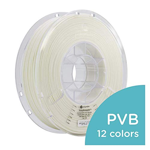 - Polymaker PolySmooth 3D Printer Filament, Layer-Free 3D Filament, 2.85 mm Filament, 750g 3D Printing Filament PolySmooth (2.85, 750g) Snow White