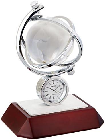 Dacasso Global II Desk Clock C1017