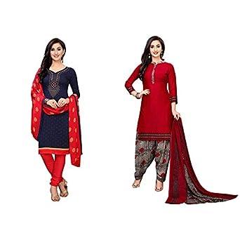 Oomph! Women's Unstitched Georgette Salwar Suit Dupatta Material