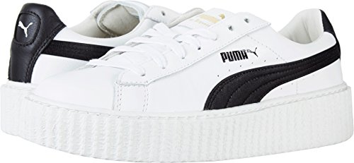 PUMA Women's Creeper Puma White/Puma Black 9 B US by PUMA