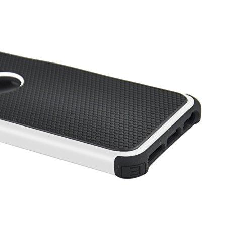 Phone Taschen & Schalen Fußball Textur Kunststoff Fall für iPhone 6 Plus & 6S Plus ( Color : White )