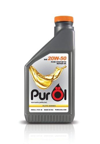 PurOl Elite Synthetic Motor Oil 20w50 1-liter Bottle