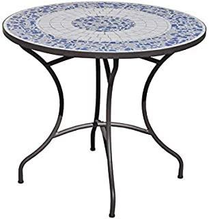 Table ronde mosaique /zellige: Amazon.fr: Jardin
