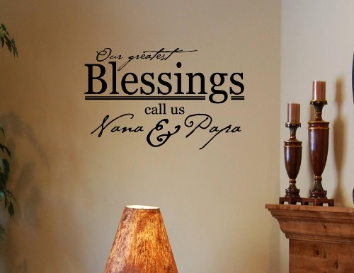 greatest blessings call VINYL DECAL