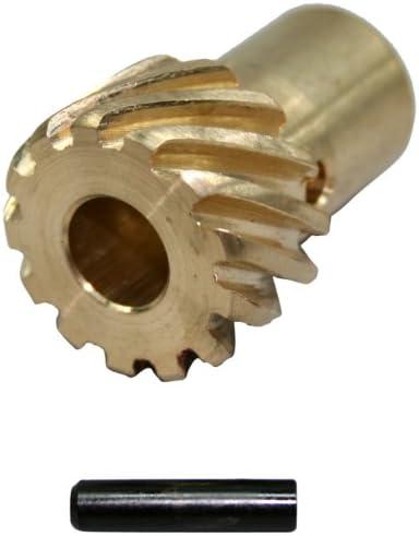 PRW 0735001 Engranaje de distribuidor de bronce de 0491 para Chevy 262454 195500