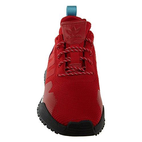 Adidas Uomini F / 1.4 Primeknit (rosso / Scarlet / Scossa Viola) Scarlatto / Scarlet-viola