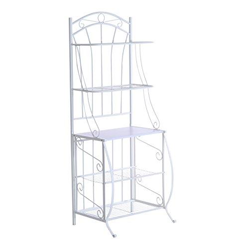 homcom-66-steel-indoor-bakers-rack-white