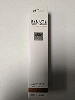IT COSMETICS Bye Bye Foundation SPF 50+ Full Coverage Moisturizer (Tan) 1.014oz