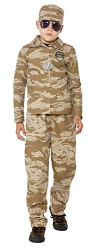 Children's Desert Army Camouflage Costume -