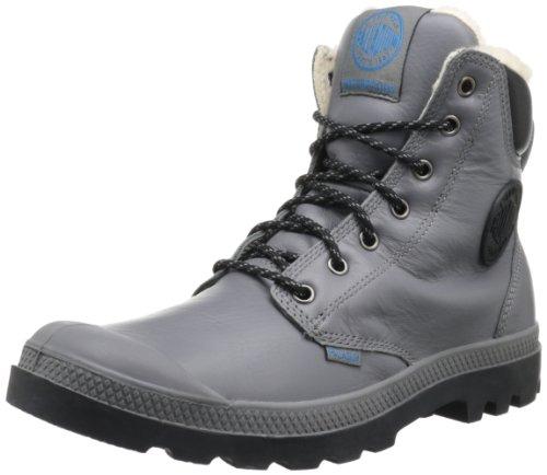 PalladiumPampa Sport Cuff WPS - botas y botines de tacón bajo Unisex adulto Gris (Grau (Castle Rock/Black))