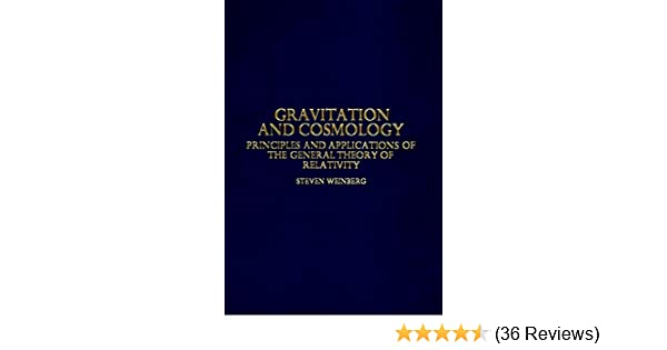 Steven Weinberg Gravitation And Cosmology Pdf