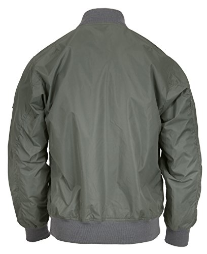 Rothco Lightweight MA-1 Flight Jacket, Sage Green, X-Large