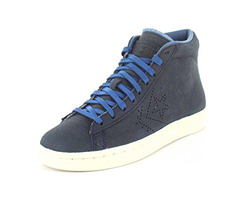 Converse Unisex Pro Cuir 76 Mi Sneaker Bluecoast / Bleu / Parchemin