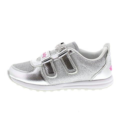 Lelli Scarpa Bambino Sneakers 7866 Argento Kelly COLORISSIMA g0zwqvax10