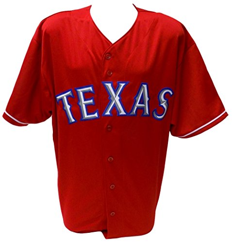 Texas Rangers Majestic Replica Red Jersey Size 2XL