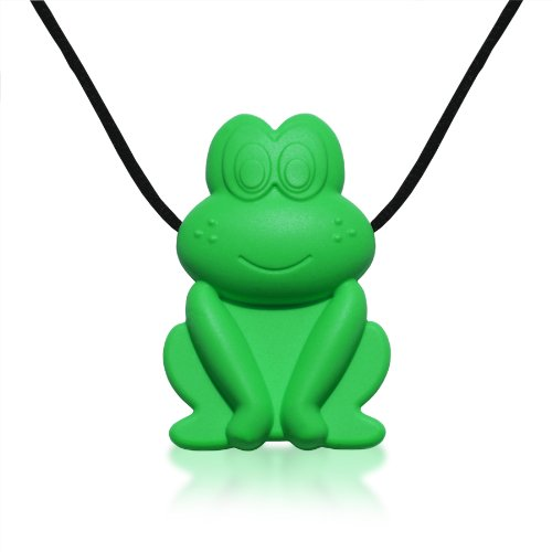 siliconies-froggy-pendant-silicone-necklace-teething-nursing-sensory-green