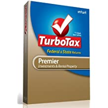 TurboTax Premier Federal + E-File + State 2012 [Old Version]