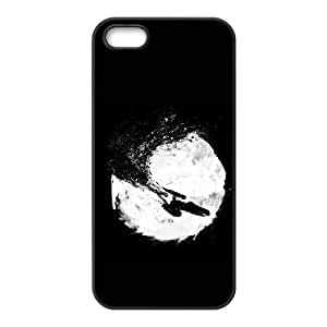 iPhone 5 5s Cell Phone Case Black To Boldly Go... B4L9R