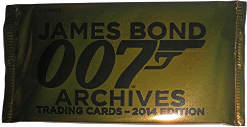 Rittenhouse 2014 James Bond Archives Factory Sealed Trading Card Pack from James Bond
