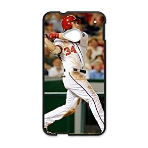 bryce harper home run Phone Case for HTC One M7