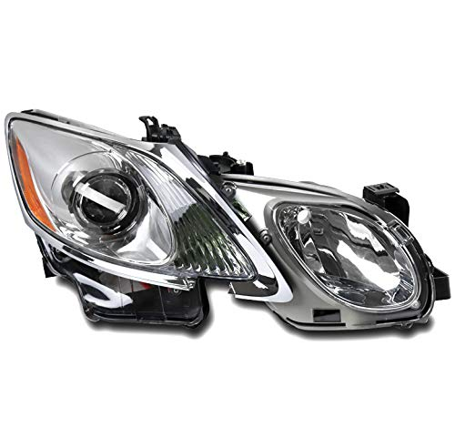 ZMAUTOPARTS 2006-2011 Lexus GS Series Chrome Projector Headlight Headlamp Passenger Side
