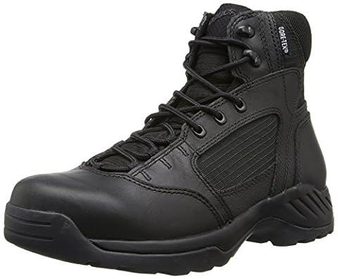 Danner Men's Kinetic 6 Inch GTX Law Enforcement Boot, Black, 12 D US - Gore Tex Slip