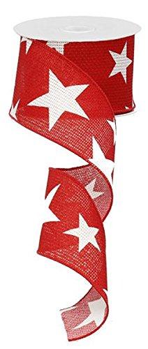Star Wired Edge Ribbon  - 10 Yards : RG01269W7