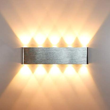 LightInTheBox Modern//Contemporary Wall Sconces 1 Light Wall Light Flush Mount Metal 85-265V 3W LED Integrated Wall Lighting Fixture