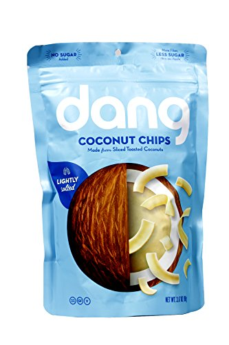 Dang Toasted Coconut Chips, Lightly Salted 3.17oz. (Pack of (Lightly Salted Chips)