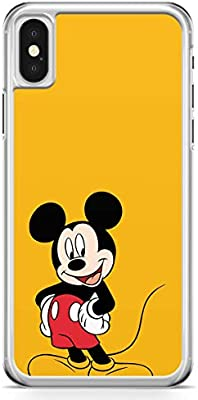 Mickey Mouse Happy Iphone X Case Bright Color Cartoon Network