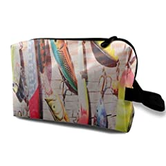 about That Product       Product Fabric: This Cosmetic Bag Is Made Of High Quality 600 D Plain Oxford Cloth. (Note: Does Not Include Cosmetic Accessories).       Rich Storage Space: This Cosmetic Bag Has Enough Space For Cosmetics And ...