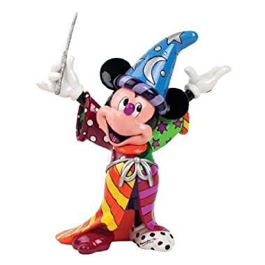 Enesco Disney by Britto Sorcerer Mickey by Britto Figurine, 8.875-Inch