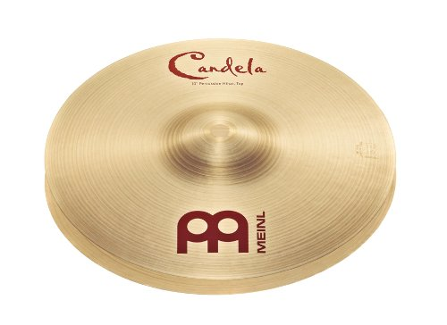 Meinl Percussion CA10PH Candela 10-Inch Percussion Hi Hat Jazz Thin Hi Hat
