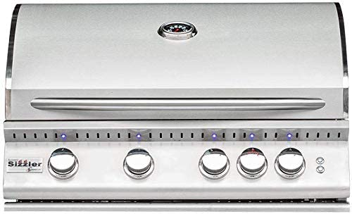Summerset Sizzler Pro 32-inch 4-burner Built-in Propane Gas Grill With Rear Infrared Burner – Sizpro32-lp