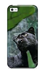 New IcdrtaQ1674LsKAj Panther Tpu Cover Case For Iphone 5c
